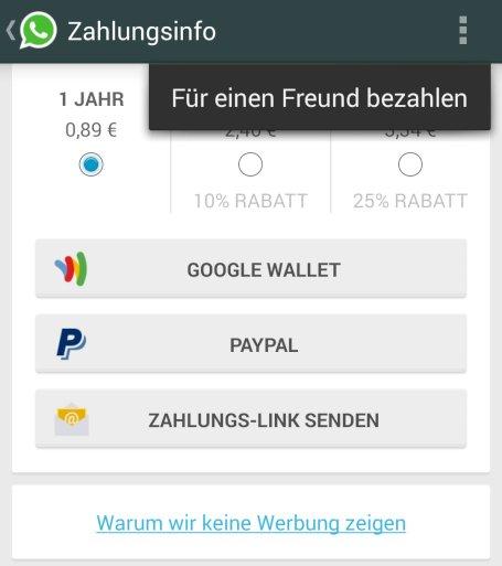 Whatsapp Für Android Online Status Lässt Sich Verstecken