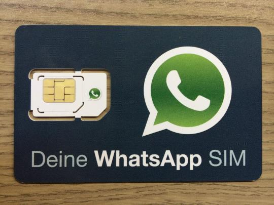 whatsapp sim mit gratis messenger daten flat im test news. Black Bedroom Furniture Sets. Home Design Ideas
