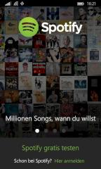 Neue Spotify-App für Windows Phone