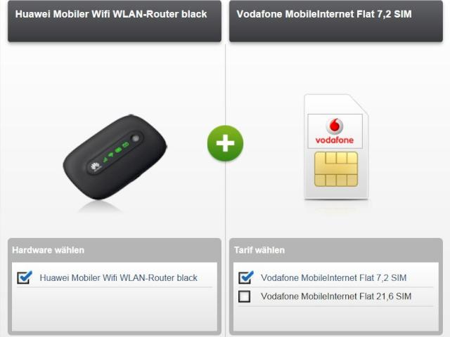 vodafone datentarif mit 5 gb und mobil router f r 19 99 euro news. Black Bedroom Furniture Sets. Home Design Ideas
