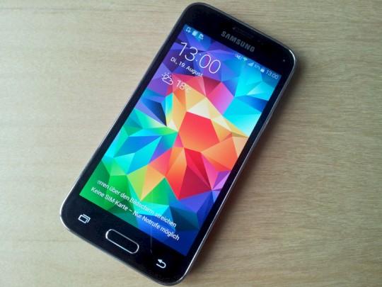 Samsung Galaxy S5 Mini Sim Karte.Samsung Galaxy S5 Mini Im Kurz Test Weniger Abstriche Als Beim S4