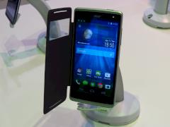 Acer Liquid Z500 mit optionalem Flip-Cover