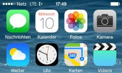 LTE von E-Plus in Frankfurt am Main mit dem iPhone 5S