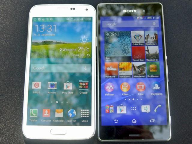 Sony Xperia Z3 versus Samsung Galaxy S5 im Foto-Vergleich ...