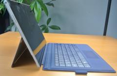 Das Surface Pro 3 mit Type-Cover
