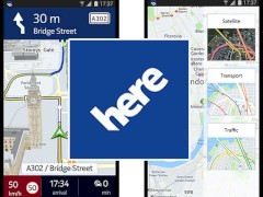 Nokia Here Maps als Beta-Version für Android erschienen