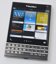 Blackberry Passport im Test