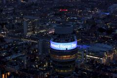 Tower der British Telecom in London