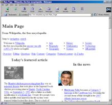 Netscape Navigator in Version 4