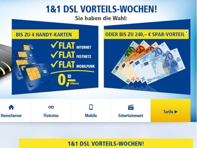 1&1 sim karte ohne vertrag 1&1: Zusätzliche SIM Karten zum DSL Anschluss   komplizierte