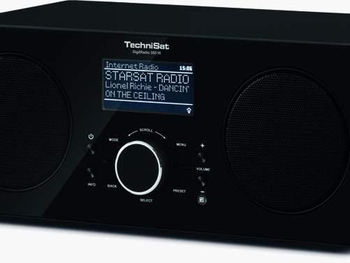 vier neue digitalradios von technisat mit dab oder. Black Bedroom Furniture Sets. Home Design Ideas