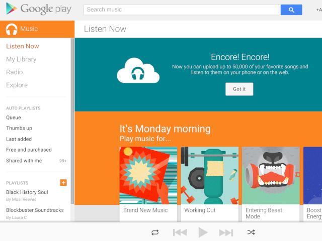 Google Play Music Titel Fehlen