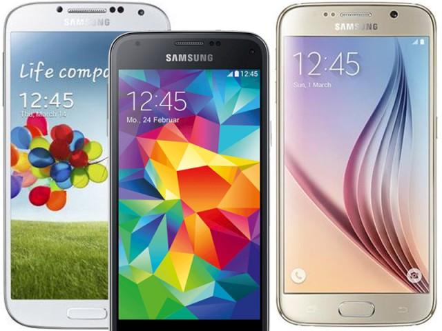 Samsung Galaxy S6 S5 S4 Im Kauf Vergleich Lohnt Der Umstieg