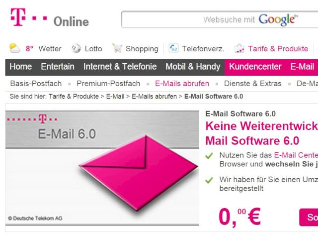 Telekom Email 6.0