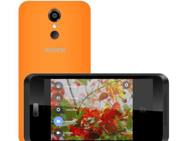 archos 45 neon g nstiges smartphone mit selfie button news. Black Bedroom Furniture Sets. Home Design Ideas