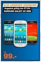 Samsung Galaxy S3 Mini Für 99 Euro Bei Saturn Schnäppchen
