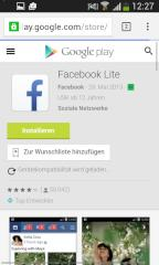 Play Store FB Lite