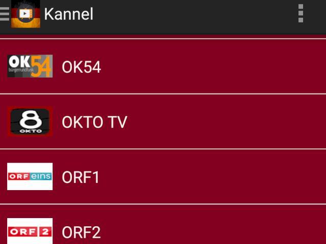 Android-App für ORF, Schweizer TV und fast alle deutschen Programme