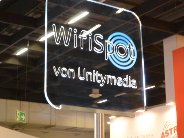 Unity media wifispot