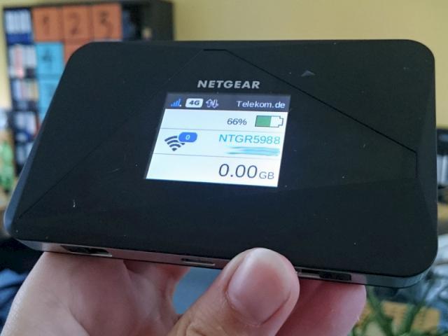 Netgear AirCard 785S: Mobiler LTE-Router im Test ...