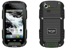 Pearl zeigt robustes Outdoor-Handy simvalley SPT-900 v2 mit Dual-SIM-Funktion