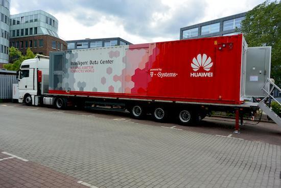 Telekom Und Huawei Zeigen Das Rechenzentrum Zum Mitnehmen Teltarif