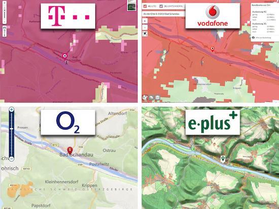 Eplus Netzabdeckung Karte.Nachgeguckt Welcher Anbieter Hat Das Beste Netz Teltarif De News