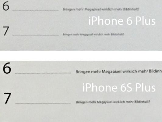 iphone 6s plus bringen mehr megapixel wirklich mehr. Black Bedroom Furniture Sets. Home Design Ideas