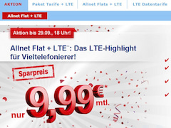 All-Net-Flat mit LTE bei simply