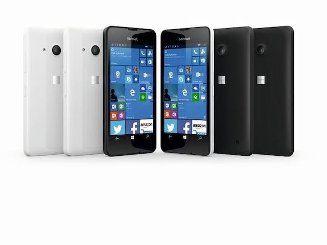 microsoft lumia 550 g nstiges windows 10 handy mit lte. Black Bedroom Furniture Sets. Home Design Ideas