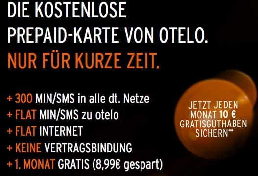 Vodafone Prepaid Karte Kostenlos.Vodafone Netz Kostenlose Prepaid Sim Von Otelo Teltarif De News