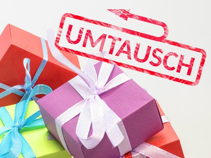 Geschenke-Rückgabe: Umtausch-Fristen zu Weihnachten - teltarif.de News