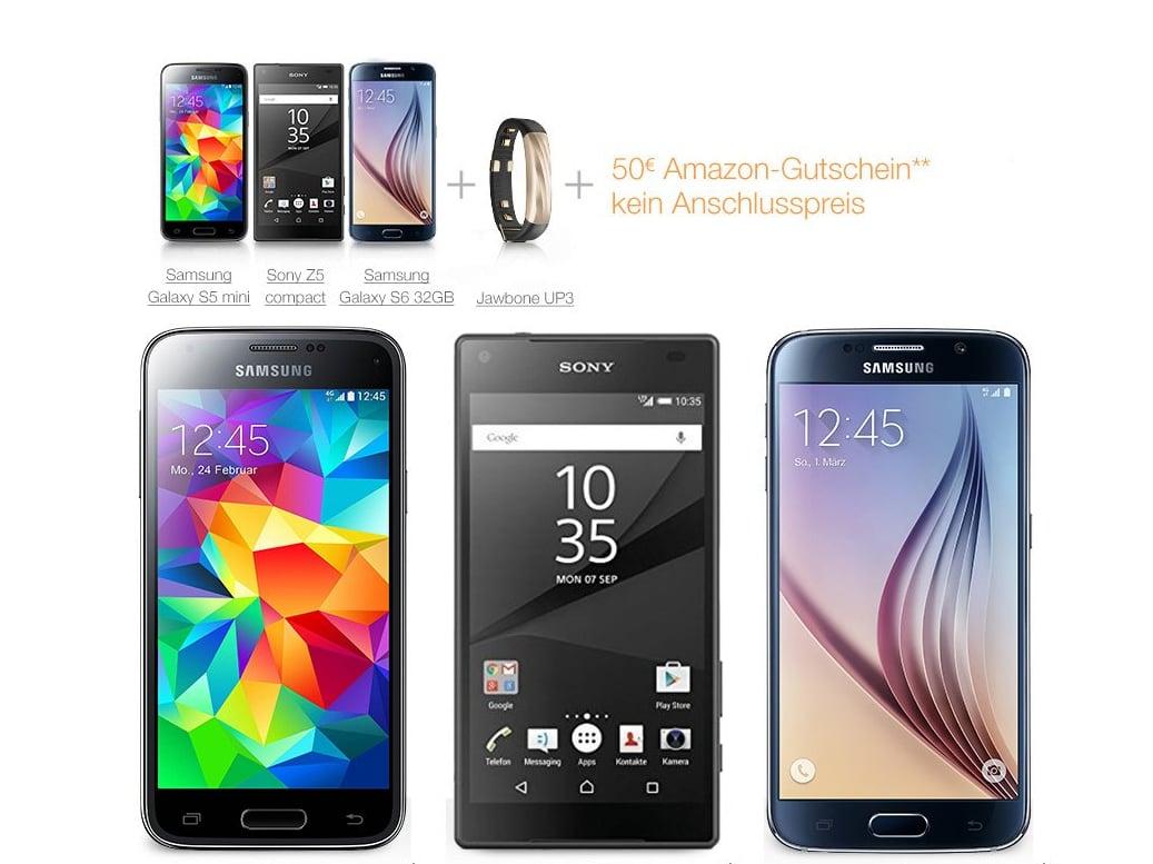 Amazon Verkauft Ab Sofort Handy Verträge Von O2 Teltarifde News