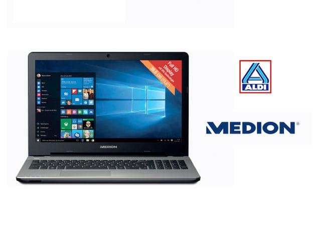 aldi 15 zoll laptop mit windows 10 f r unter 500 euro. Black Bedroom Furniture Sets. Home Design Ideas