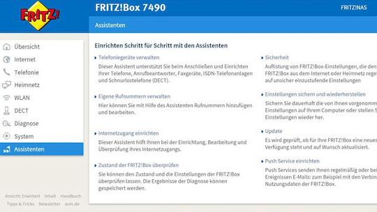 AVM FRITZ!OS 6.50 auf der Fritz!Box 7490: Einrichtung & erster Eindruck - teltarif.de News