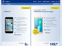 Apple iPhone 6 ohne Aufpreis zur All-Net-Flat Pro