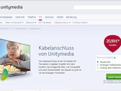 Neu Und Bestandskunden Zahlen Mehr Für Unitymedia Kabelanschluss