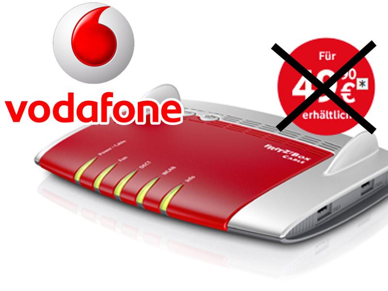 Vodafone Nur Noch Miet Preise Für Dsl Lte Router Teltarifde News