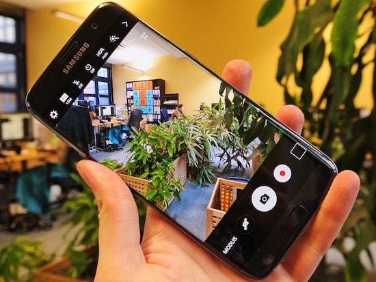 Samsung Galaxy S7 & Edge: 4K-Video-Test mit der 12-MP-Kamera