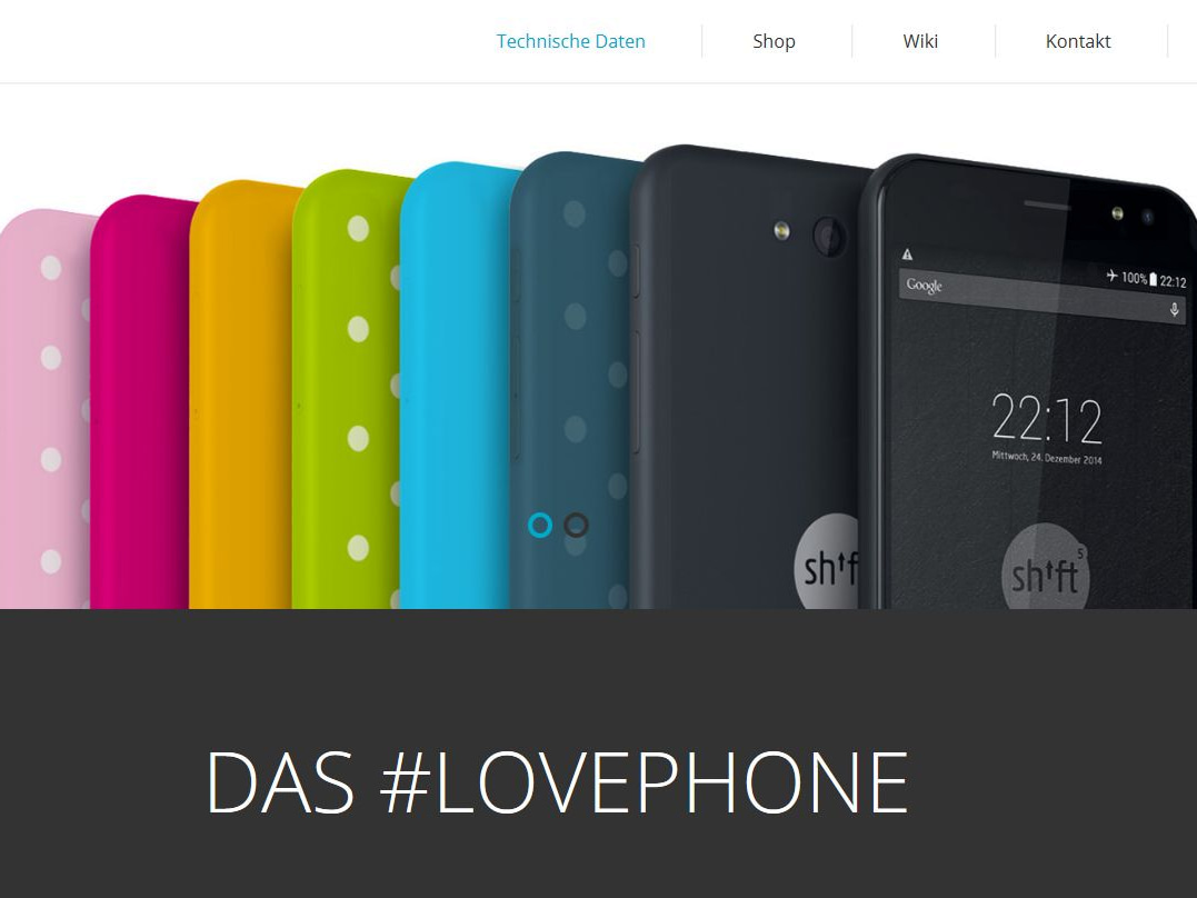 shift phones die fairphone konkurrenz made in hessen. Black Bedroom Furniture Sets. Home Design Ideas