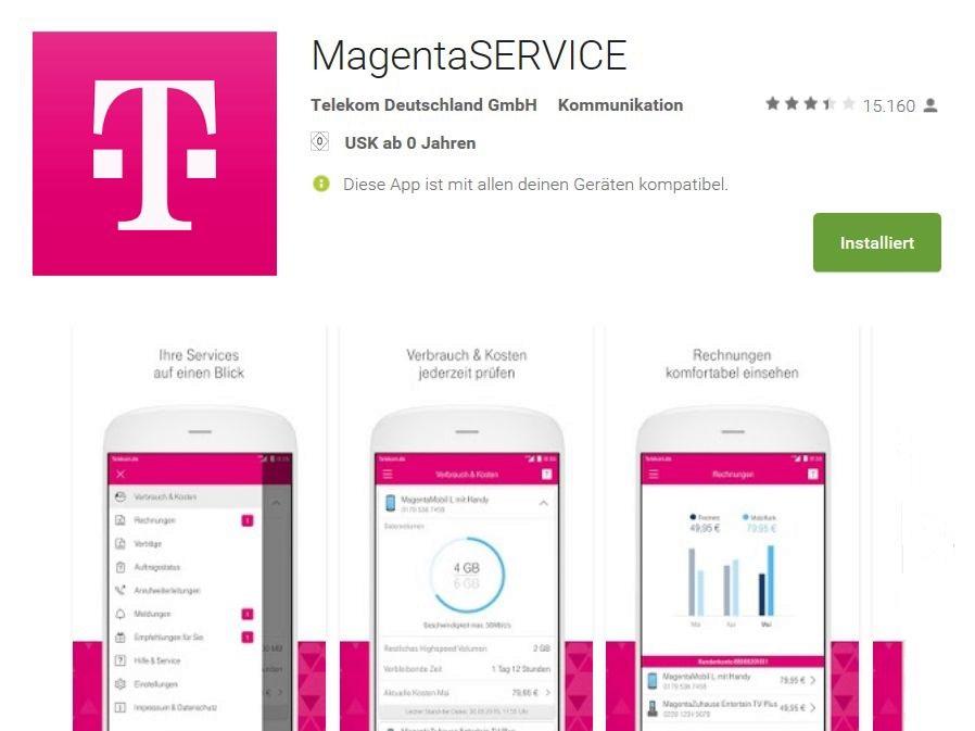 Telekom Magenta Service Ersetzt Kundencenter App Update