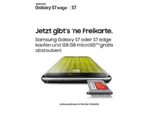 Samsung Galaxy S7 Sd Karte Größe.Samsung Aktion Gratis Sd Karte Beim Kauf Des Galaxy S7 Edge