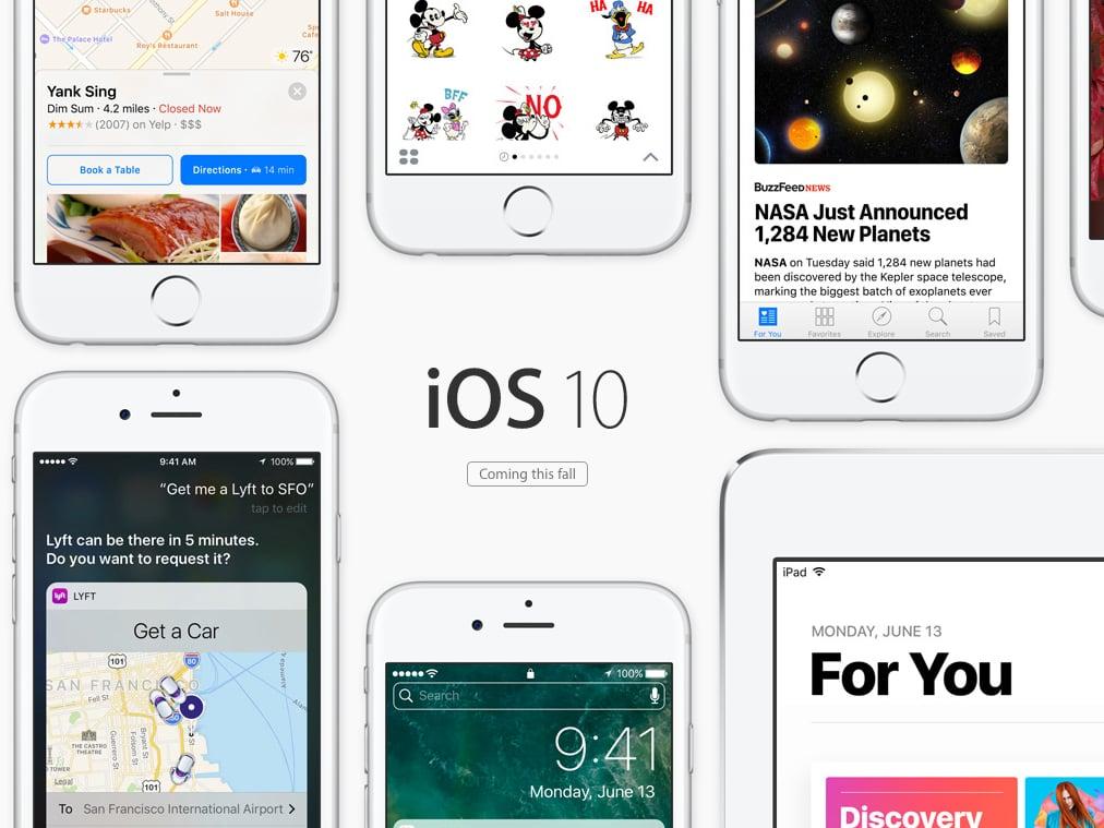 Diese iPhones und iPads bleiben bei iOS 10 außen vor - teltarif de News
