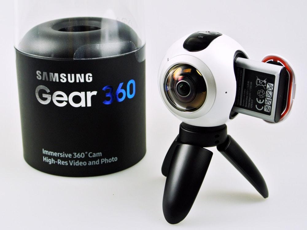 Gear 360 Im Unboxing Samsungs Kugel Kamera Ausgepackt Teltarifde