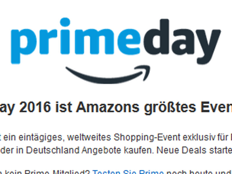 amazon prime day am 12 juli exklusive produkte. Black Bedroom Furniture Sets. Home Design Ideas
