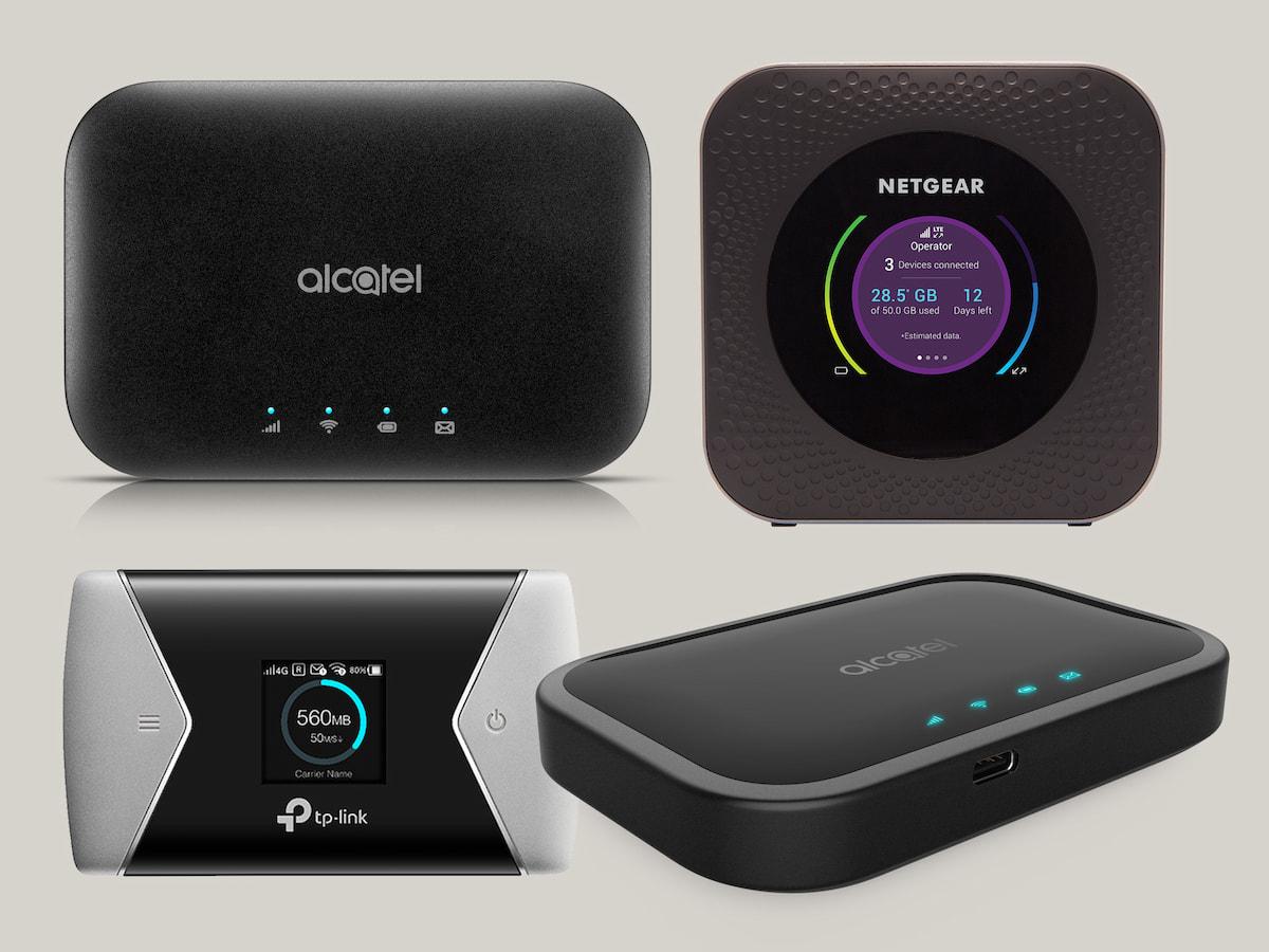 mobile lte router von netgear alcatel co. Black Bedroom Furniture Sets. Home Design Ideas