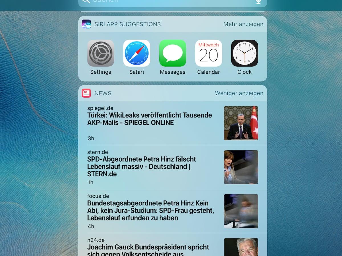 iOS 10 auf dem iPad Pro 9.7 in Bildern - teltarif.de News
