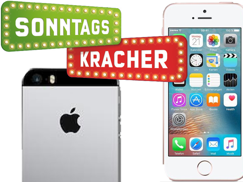 schn ppchen check apple iphone se mit 64 gb. Black Bedroom Furniture Sets. Home Design Ideas