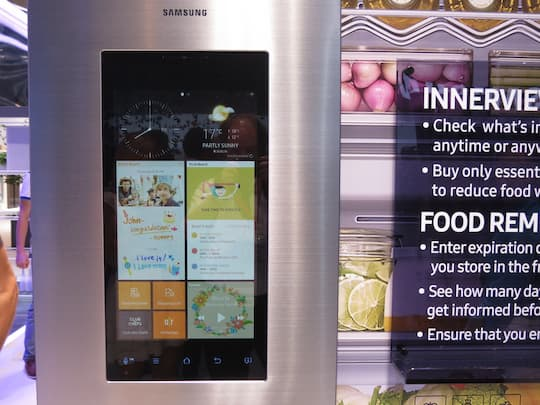 Side By Side Kühlschrank Test Chip : Samsung family hub ersetzt der kühlschrank die mutter teltarif