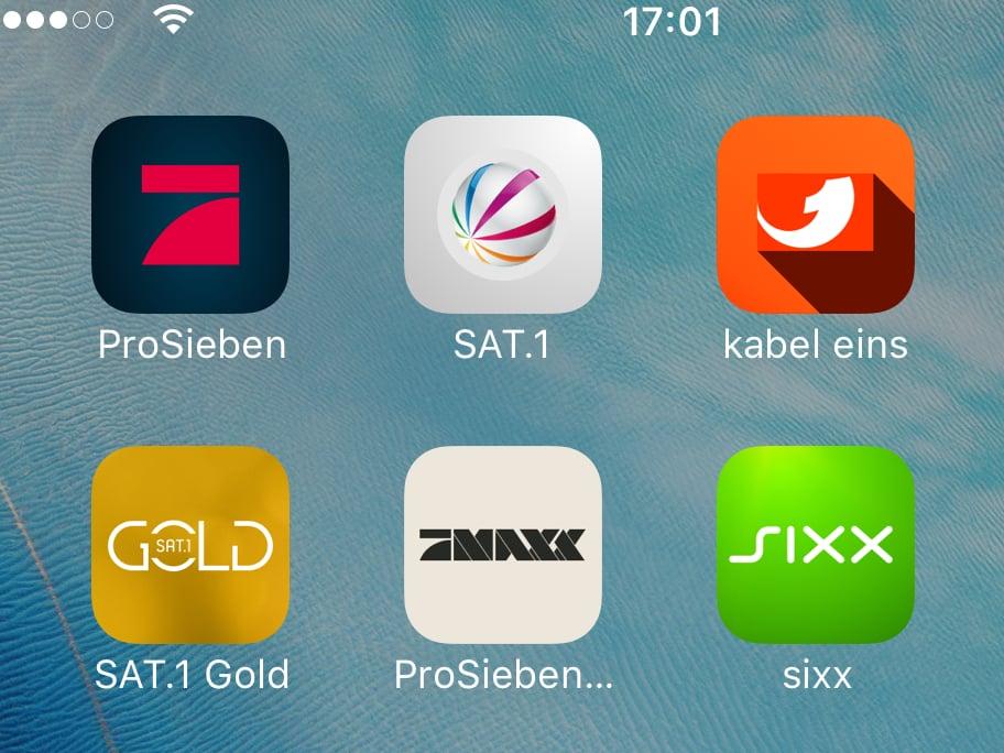 Prosieben Sat1 Co Livestreams Für Handy Und Tablets